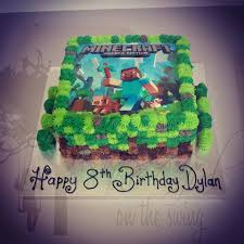 square minecraft craft with edible image the on the swing