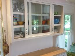 sliding glass kitchen cabinet doors kitchen decoration