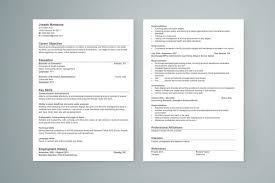 Resume Template Singapore Accounting Resume Template Saneme