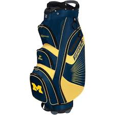 Michigan travel cooler images Team effort university of michigan bucket ii cooler cart bag jpg