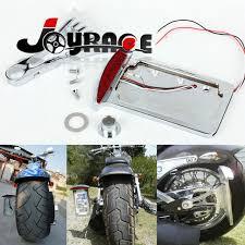 motorcycle license plate frame with led brake light side mount license plate frame led tail brake light taillight