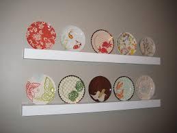 marvelous plate shelves fresh design uncategories decorative wall