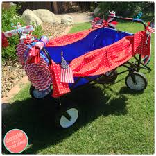 Fourth Of July Tablecloths by How To Decorate A Wagon Or Bike For 4th Of July Parade