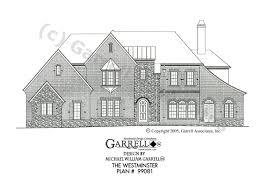 westminster house plan house plans by garrell associates inc