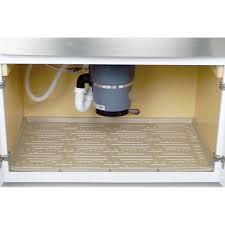 under sink rubber mat under kitchen sink liner sink ideas