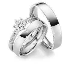 verlobungsring mit schlichtem ehering als vorsteckring passender - Verlobungsring Vorsteckring
