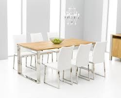 White Oak Dining Room Set - white oak dining table white oak dining room table home design