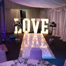 Wedding Aisle Runners Led Starlit Aisle Runner Hertfordshire Events Weddings Dj