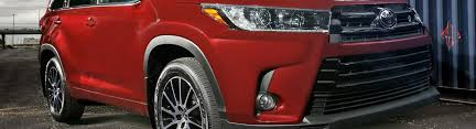 2013 toyota highlander limited accessories 2017 toyota highlander accessories parts at carid com