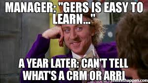 Whats A Meme - manager gers is easy to learn a year later can t tell what s