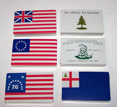 Appeal To Heaven Flag Bicentennial Playing Cards Historic Flags 6 Decks C 1976 From