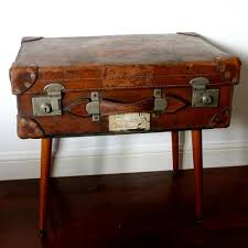vintage trunk coffee table weckner design gulliver retro vintage suitcase coffee table