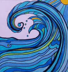 how do you draw waves learn how to draw a wave tips paul carter