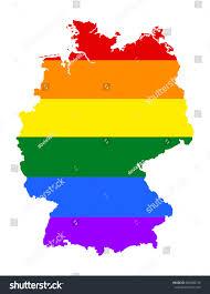 Uganda Flag Colours Germany Pride Vector Map Rainbow Stock Vector 660480739