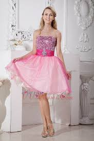 graduation gowns for sale crystals pink organza graduation dress for sale