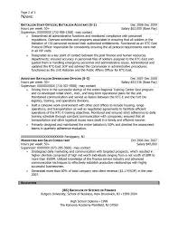 rutgers resume free federal resume sample from resume prime
