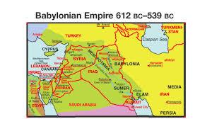 Babylonian Empire Map Daniel Study Woodridge Community Church