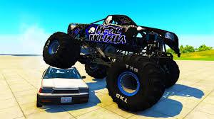 monster truck crash videos youtube the monster truck beamng drive crd monster truck crashes and