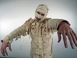 Mummy Halloween Costume Sheets Turn Ancient