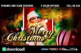 30 top christmas after effects free template free after effects