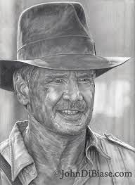 drawing of harrison ford as indiana jones johndibiase com