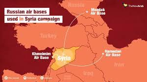 Map Of Syria And Russia Us Russia Preparing U0027intelligence Sharing U0027 Deal Over Syria U0027s War