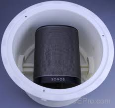 cedia scoop vanco concealer turns sonos into in ceiling speaker
