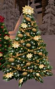 christmas tree with lights sale second life marketplace christmas tree 60 with twinkling silver