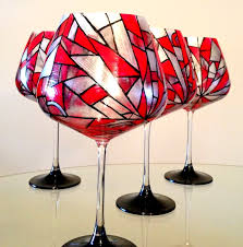 wine glass with initials wine glass painting party visit pavilion