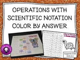 working with scientific notation 57 best scientific notation images on scientific