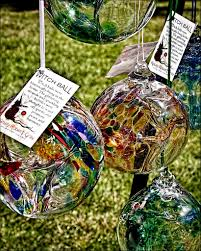 Hanging Gazing Ball Tree Of Life Meaning Tree Of Enchantment Hanging Glass Ball For