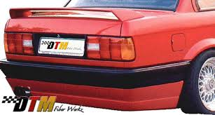 Bmw E30 Rear Valance Dtm Fiber Werkz Rear Bumper Apron For Bmw 3 Series