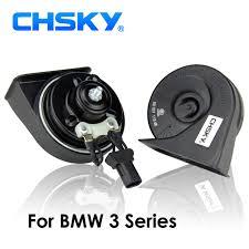 chsky car horn snail type horn for bmw 3 series e36 e46 e90 e91 e92