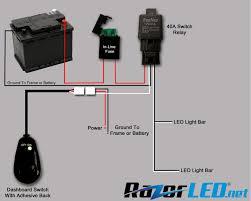 Waterproof Led Light Bar 12v by 12v Light Bar Diagram Light Bar Relay U2022 Mifinder Co