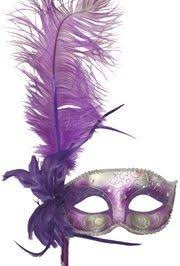 purple masquerade mask purple and silver venetian masquerade mask on a stick with a large