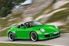 green porsche convertible green porsche