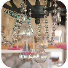 Magnetic Crystals For Chandeliers The Bedazzled Home Transforming Drab Lighting Into Fab Lighting