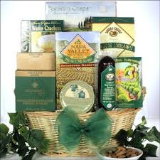 gourmet cheese gift baskets thinking of you s day gourmet cheese gift basket his