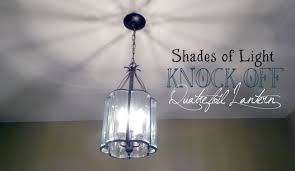 Shades Of Light Com by Shades Of Light Knock Off Quatrefoil Lantern Brass And Whatnots