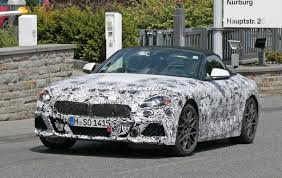 new bmw z4 spotted with lighter front fascia camouflage