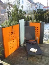 pflanzkasten mit sichtschutz modular mit dekorstanzung h x b 100 x 100 cm