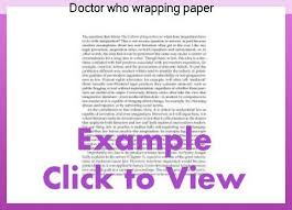 dr who wrapping paper doctor who wrapping paper research paper academic service