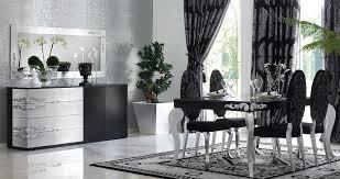 black and silver dining room set designs home decor blog