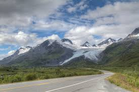Alaska Road Map by Anchorage To Valdez Driving Highlights