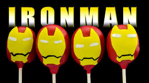 iron man cake pops how to make by cookies cupcakes and cardio
