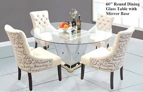 Bassett Dining Room Set by Dining Table Mirrored Dining Table And Chairs Uk Mirror Dining