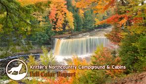 newberry michigan fall color report upper peninsula fall colo