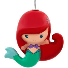 hallmark disney the mermaid ariel decoupage ornament