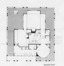 second floor plan zimmerman house architect william turnbull jr