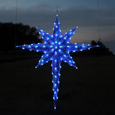 Lighted Christmas Decorations by Shop Holiday Lighting Specialists 6 83 Ft Moravian Star Outdoor
